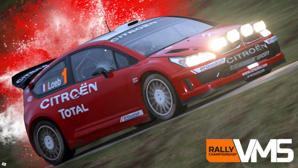 Der Citroen C4 Rally '10. ~Dirt Rally 2.0