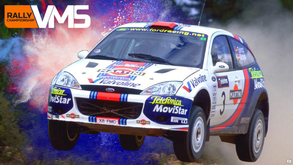 Der Ford Fokus Rally '01. ~Dirt Rally 2.0