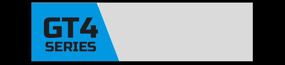 Das offizielle Logo der Virtual-Motorsport.de GT4 Series. Einer Meisterschaft / Liga in Assetto Corsa Competizione.