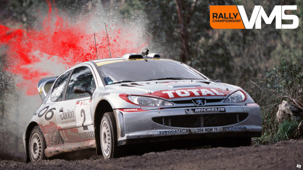Der Peugeot 206 Rally '02. ~Dirt Rally 2.0